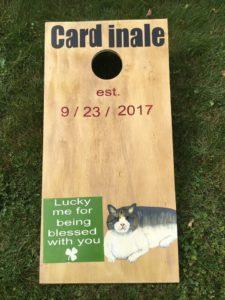 cat handpainted